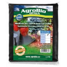 AgroBio netkaná textilie 40 g/m2 1,6x10 m, černá