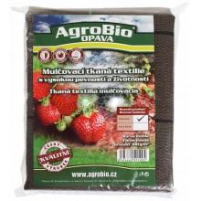 AgroBio tkaná textilie 100 g/m2 1,6x10 m, hnědá