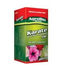 AgroBio 5 CS KARATE se Zeon technologii k hubení savého a žravého hmyzu, 20 ml 001030