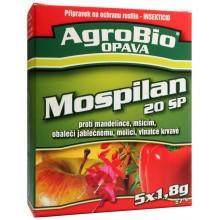 AgroBio MOSPILAN 20 SP přípravek k hubení širokého spektra škůdců, 5x1.8 g 001038