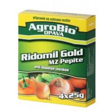 AgroBio RIDOMIL GOLD MZ Pepite proti houbovým chorobám, 4x25 g 003141