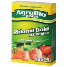 AgroBio RIDOMIL GOLD MZ Pepite proti houbovým chorobám, 5x50 g 003142