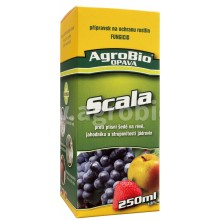 AgroBio SCALA proti strupovitosti jádrovin a plísni šedé, 250 ml 003268