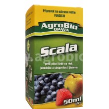 AgroBio SCALA proti strupovitosti jádrovin a plísni šedé, 50 ml 003267