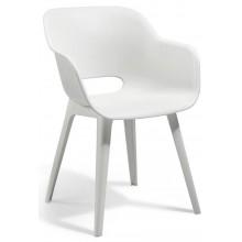 KETER AKOLA Židle, 57 x 55 x 80cm, bílá 17206196 + 17206197