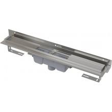 ALCAPLAST Flexible podlahový žlab 850 mm s okrajem pro perforovaný rošt APZ1004-850