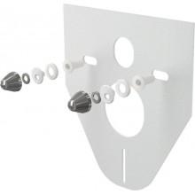 ALCAPLAST Izolační deska s příslušenstvím a krytkou (chrom) M910CR