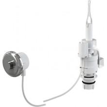ALCAPLAST Oddálené pneumatické splachování ruční do zdi chrom MPO11
