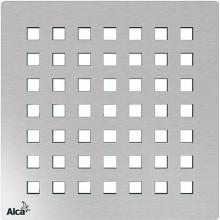 ALCAPLAST Mřížka pro nerezové vpusti 102×102 mm nerez MPV014