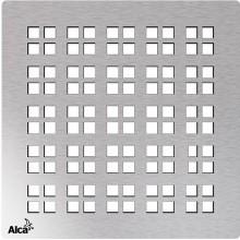 ALCAPLAST Mřížka pro nerezové vpusti 102×102 mm nerez MPV015