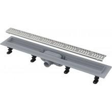 ALCAPLAST Simple Podlahový žlab s okrajem pro perforovaný rošt APZ10-950M