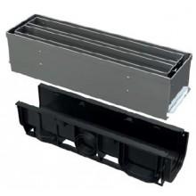ALCAPLAST Štěrbinový venkovní žlab symetrický revizní díl 100 mm z nerezu AVZ101S-R323R