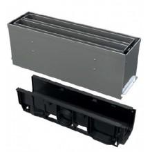 ALCAPLAST Štěrbinový venkovní žlab symetrický revizní díl 160 mm z nerezu AVZ101S-R324R