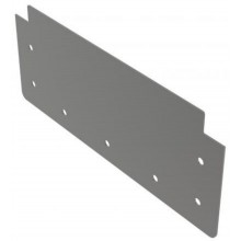 ALCAPLAST Čelo pro krabicový žlab AISI 316L APR1-P010