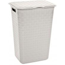 CURVER NUANCE 48L koš na špinavé prádlo 43x34x58cm bílý 17197590