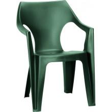 ALLIBERT DANTE zahradní židle, 57 x 57 x 79 cm, tmavě zelená 17187058