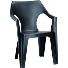 ALLIBERT DANTE zahradní židle, 57 x 57 x 79 cm, grafit 17187058