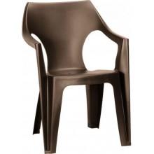 ALLIBERT DANTE zahradní židle, 57 x 57 x 79 cm, hnědá 17187058