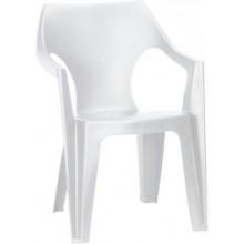 ALLIBERT DANTE zahradní židle, 57 x 57 x 79 cm, bílá 17187058