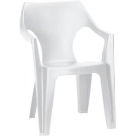 ALLIBERT DANTE zahradní židle, bílá 17187058