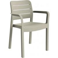 ALLIBERT TISARA zahradní židle, cappuccino 17199557