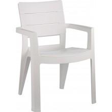 ALLIBERT IBIZA zahradní židle, 62 x 62 x 83 cm, bílá 17197867