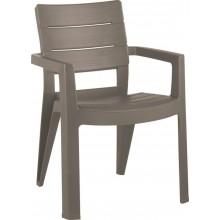 ALLIBERT IBIZA zahradní židle, 62 x 62 x 83 cm, Cappuccino 17197867