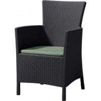 ALLIBERT LOWA (MONTANA) zahradní židle, hnědá 17197853