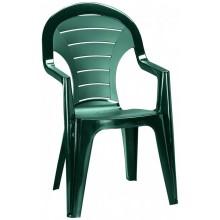 ALLIBERT BONAIRE zahradní židle, 56 x 57 x 92 cm, tmavě zelená 17180277