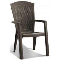 ALLIBERT MINNESOTA zahradní židle, hnědá 17198329