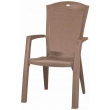 ALLIBERT MINNESOTA zahradní židle, 61 x 65 x 99 cm, Cappuccino 17198329