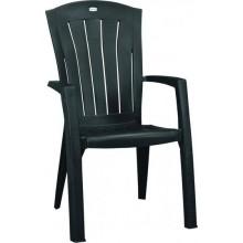 ALLIBERT SANTORINI zahradní židle, 61 x 65 x 99 cm, grafit 17180012