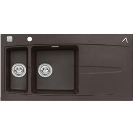 ALVEUS Apelles 70 kuchyňský dřez granitový, 1000 x 510 mm, chocolate 03 4507003