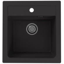 ALVEUS ATROX 20 kuchyňský dřez granitový, 470 x 500 mm, black 1131990