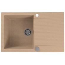 ALVEUS CADIT 20 kuchyňský dřez granitový, 790 x 500 mm, beige 1132024