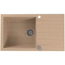 ALVEUS CADIT 40 kuchyňský dřez granitový, 860 x 500 mm, beige 1132029