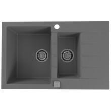 ALVEUS CADIT 70 kuchyňský dřez granitový, 790 x 500 mm, beton 1131360