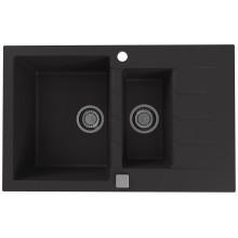 ALVEUS CADIT 70 kuchyňský dřez granitový, 790 x 500 mm, black 1131361