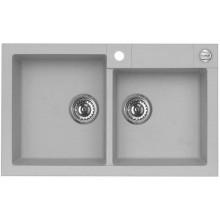 ALVEUS ROCK 90 kuchyňský dřez granitový, 780x480 mm, beton