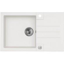 ALVEUS ROCK 130 kuchyňský dřez granitový, 780x480 mm, bílá