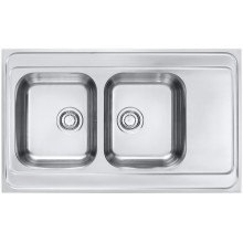 ALVEUS CLASSIC PRO 80 kuchyňský dřez nerez, 1000 x 600 mm, satin 1130472