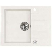 ALVEUS ROCK 30 kuchyňský dřez granitový, 595x475 mm, bílá