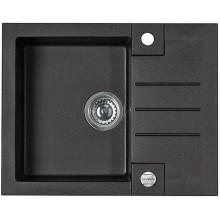 ALVEUS ROCK 30 kuchyňský dřez granitový, 595x475 mm, černá