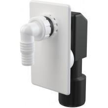 ALCAPLAST sifon pračkový podomítkový bílý APS4