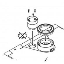 ARISTON Adaptér redukovaný pro dělený odtah spalin pr. 80/80 3123574