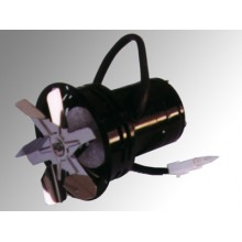 ATMOS Odtahový ventilátor UCJ4C52 + kolo 150mm - sada S0133