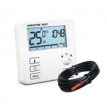 AURATON 3021 PC programovatelný termostat s externím čidlem 2,5m