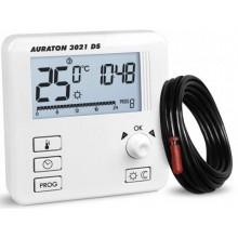 AURATON 3021 DS Týdenní programovatelný termostat se dvěma čidly