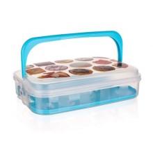 VETRO-PLUS Box na pečivo a cukr. 7L modrý 55045010