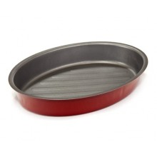 BANQUET Oválný pekáč 30x21 cm, Culinaria Red 19SL1050-A